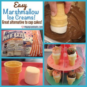 Marshmallow Ice Creams
