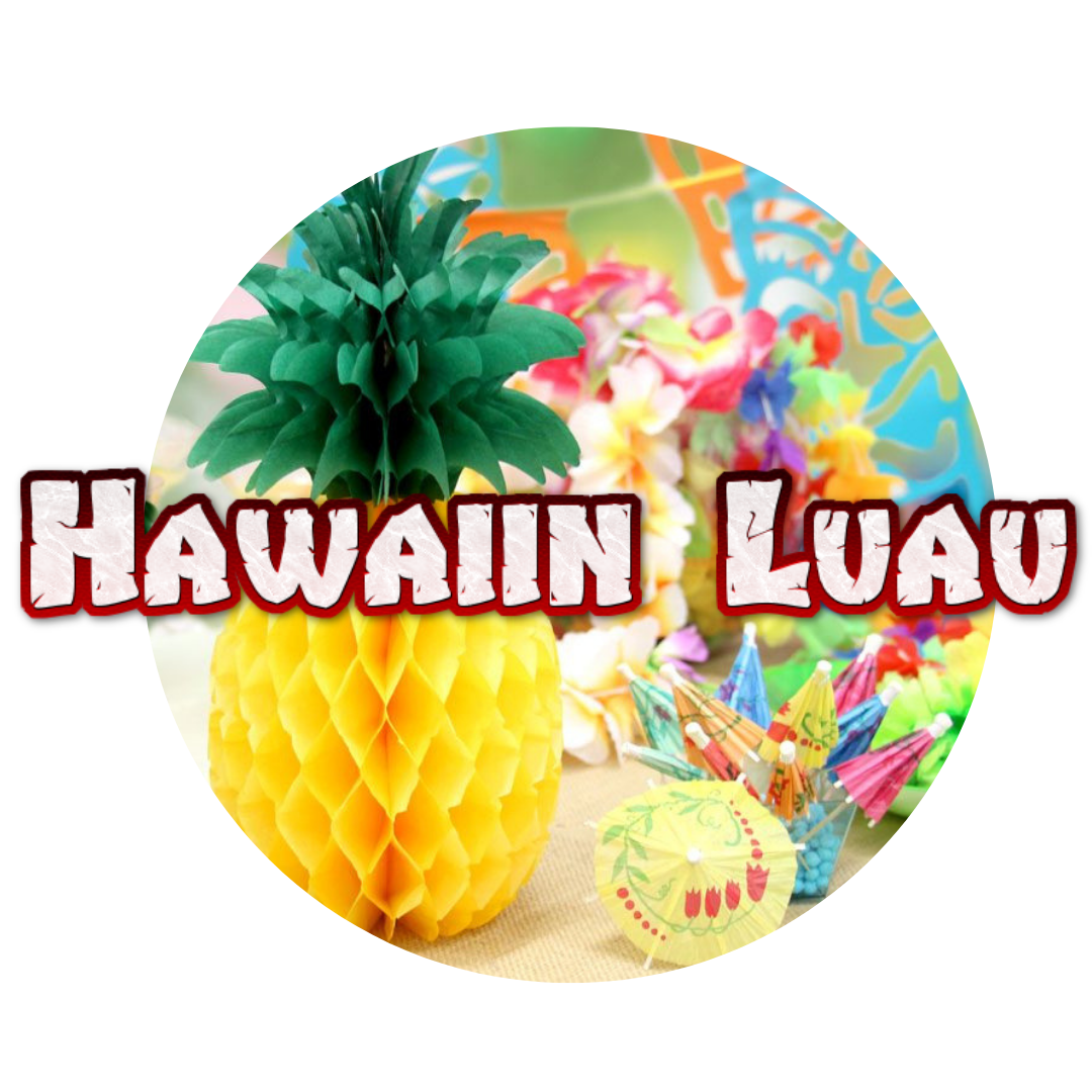 Hawaiin Luau beach children's party themes