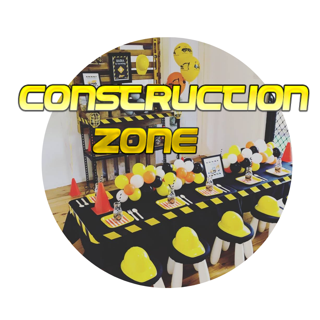 Construction builder childrens party themes