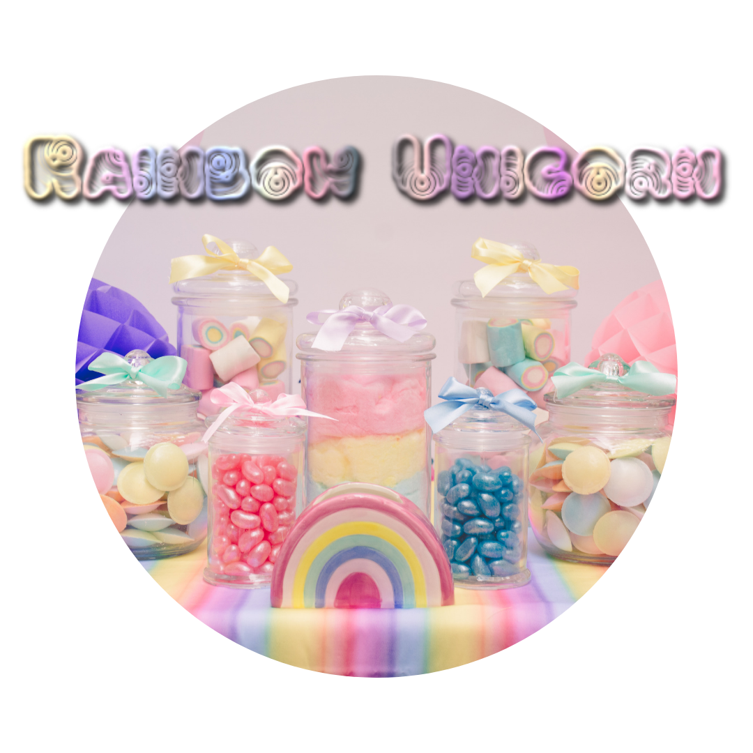 Rainbow unicorn children's party themes